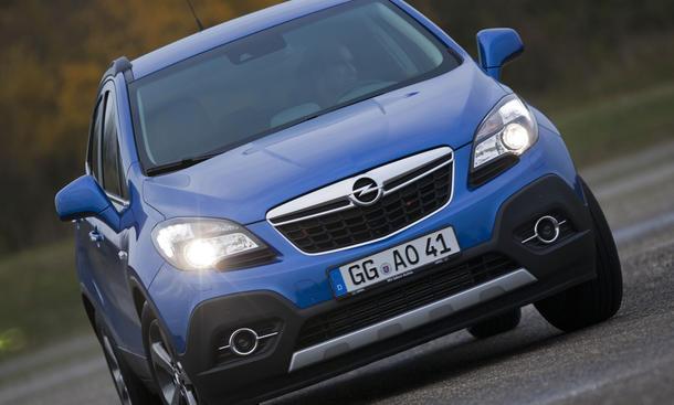 Vergleichstest Opel Mokka 1.7 CDTI ecoFLEX 4x4 Eckdaten