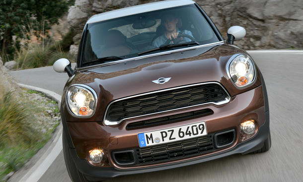 Mini Cooper S Paceman 2013 Fahrbericht Sports Activity Coupe Markteinführung