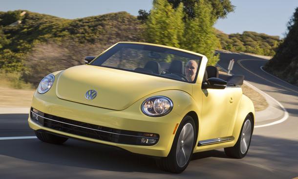 VW Beetle Cabrio 2.0 TSI Lifestyle Kompaktklasse Höchstgeschwindigkeit