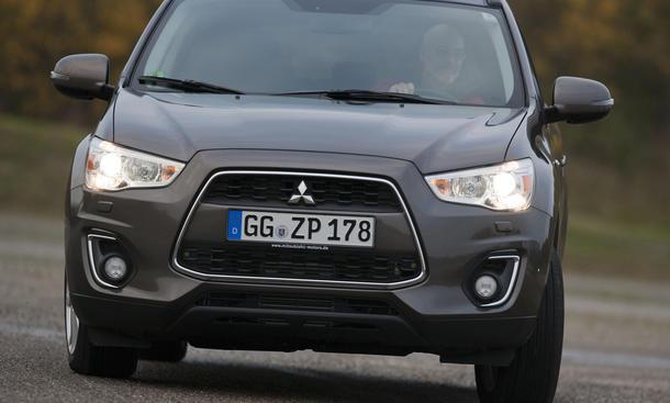 Bilder Mitsubishi ASX 1.8 DI-D 4WD Vergleichstest Kompakt-SUV Eckdaten
