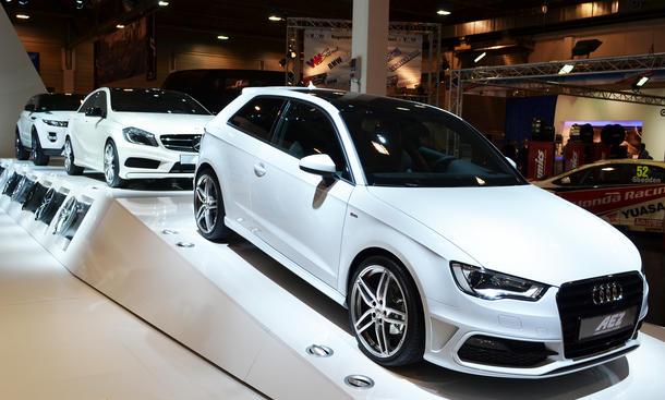 VW Golf VII Audi A3 Mercedes A Klasse BMW 1er 2012 Essen Motor Show