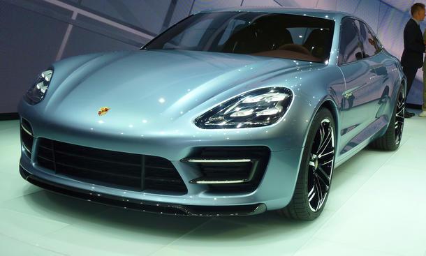 Porsche Panamera Sport Turismo Zukunft Serie Auto Salon Paris 2012
