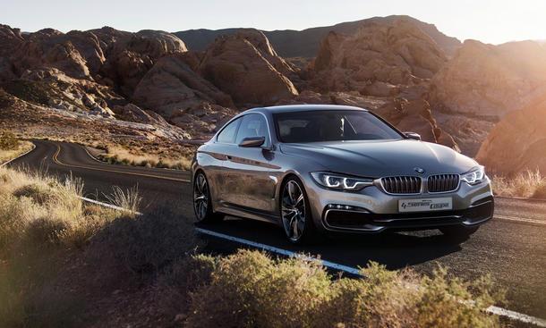BMW 4er Coupe 2013 Detroit Auto Show Concept Studie