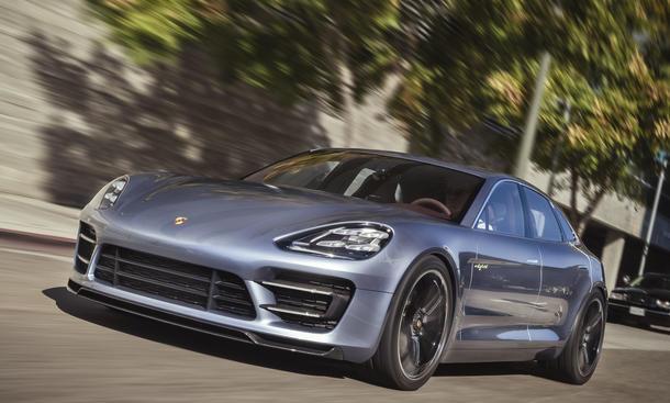 Bilder Porsche Panamera Sport Turismo 2012 Hybrid Studie Los Angeles