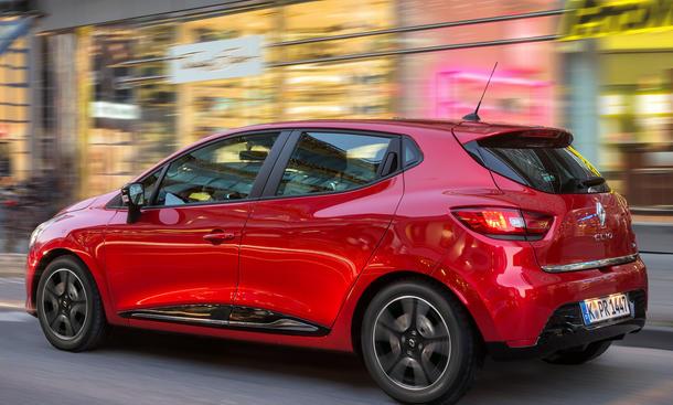 Bilder Renault Clio TCe 90 eco 2012 Kleinwagen Vergleichstest Neuheit