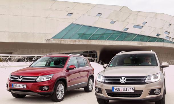 Bilder VW Tiguan Kaufberatung 2012 Kompakt-SUV