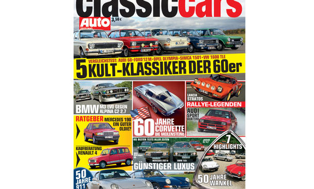 AUTO ZEITUNG Classic Cars 01/2013