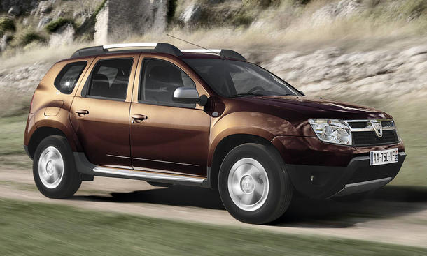 dacia duster preis sinkt 2013 auf euro. Black Bedroom Furniture Sets. Home Design Ideas