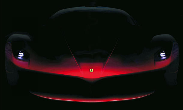 Ferrari F70 2013 Enzo Nachfolger KERS Hybrid Teaser Bilder