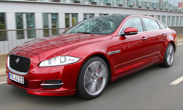 Jaguar XJ 3.0 V6 Kompressor 2013: Downsizing mit 340 PS