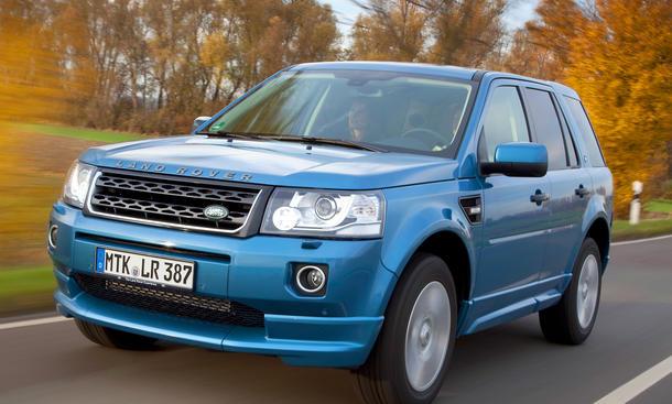 Land Rover Freelander 2013 Facelift Fahrbericht