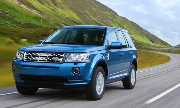 Land Rover Freelander 2013 Facelift SUV Offroader Preis