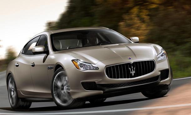 Maserati Quattroporte 2013 V8 Allrad Hybrid Bilder technische Daten