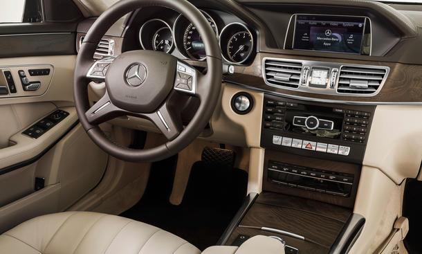Mercedes E Klasse 2013 Facelift für Limousine und T Modell in
