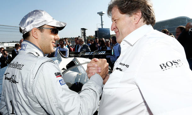 Mercedes Motorsport Nachfolger Norbert Haug Niki Lauda Michael Schumacher