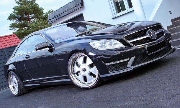 PP Exclusive, Crownjewel-Felge, Tuning, Tieferlegung, Mercedes CL