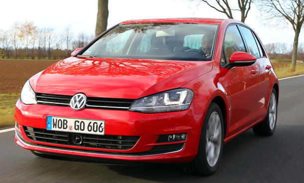 VW Golf VII 1.4 TSI 2012 Test 122 PS technische Daten Benziner Diesel