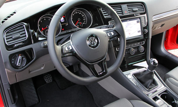 vw golf vii 1 4 tsi 2012 im test benziner oder diesel bild 5. Black Bedroom Furniture Sets. Home Design Ideas