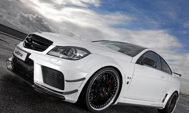 Väth Mercedes C 63 AMG Black Series: V63 Supercharged mit 756 PS