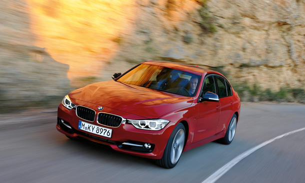 test bmw 335i xdrive f30 allradantrieb bild 9. Black Bedroom Furniture Sets. Home Design Ideas