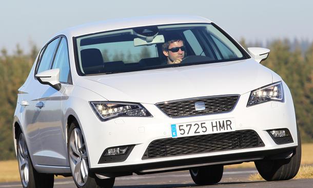 Seat Leon 2.0 TDI Ecomotive 2012 Vergleichstest Kompaktklasse Eckdaten