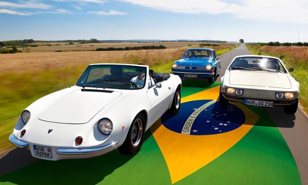 Classic Cars Sportwagen Brasilien Puma GT Spider Ghia TC 145 VW SP 2