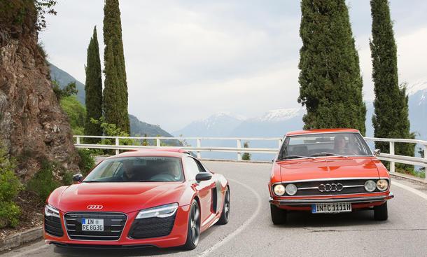 Audi 100 Coupe S Faszination Auto Spritztour