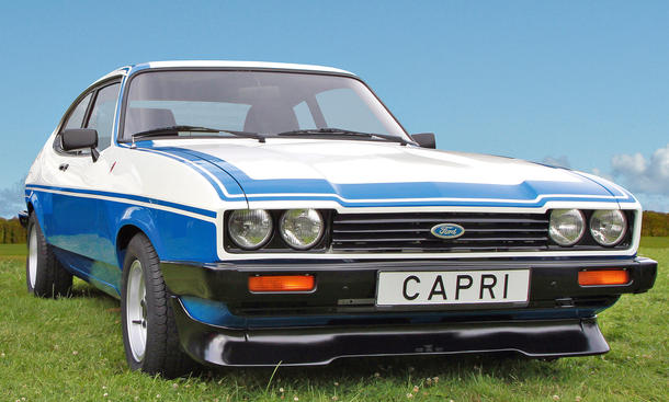 Makellos in 50 Tagen: Ford Capri III