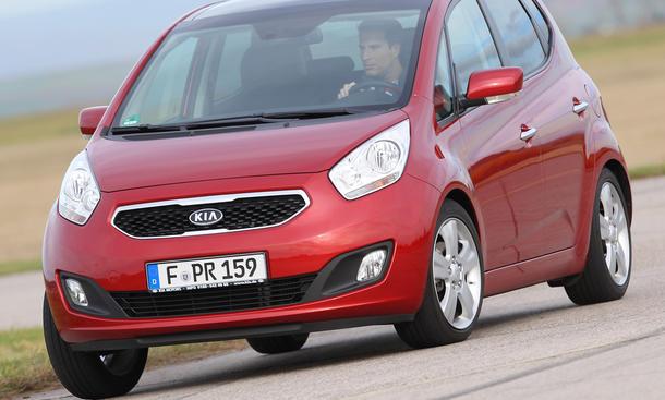Vergleichstest Mini-Van Kia Venga 1.4 CRDi Vergleich Turbodiesel Eckdaten
