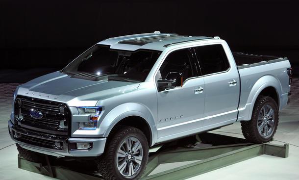 2014 ford f 150 atlas concept auf der detroit auto show 2013