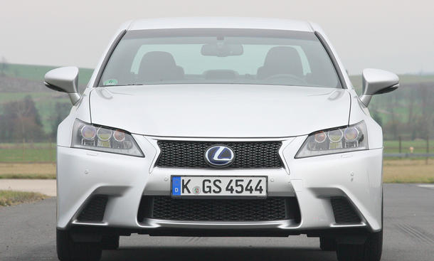 Lexus GS 450h Hybrid Limousine Eckdaten