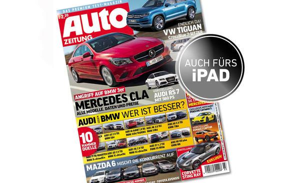 AUTO ZEITUNG 03 / 2013 Cover Titel Deckblatt