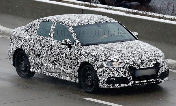 Audi A3 Limousine 2013 Erlkoenig Stufenheck Kompaktklasse