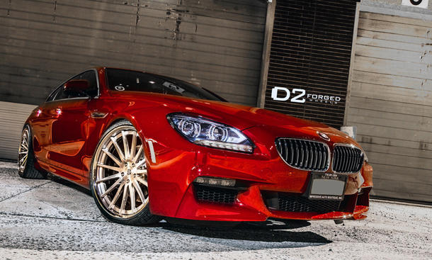 BMW 640i Gran Coupé Tuning Felgen 22-Zöller Luxus-Coupé