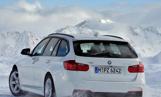 BMW Modellpflege 2013 3er Touring xDrive