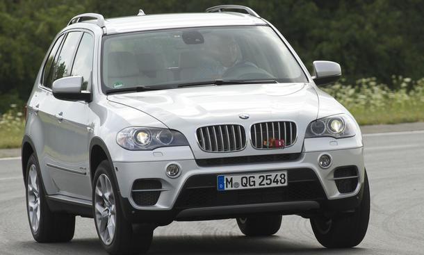 Bilder BMW X5 xDrive50i 2013 Vergleich