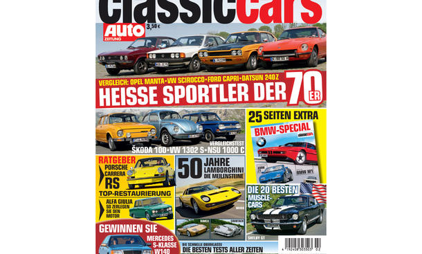 Classic Cars 02 2013 Vorschau Cover
