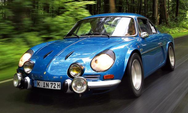 Alpine Renault Car