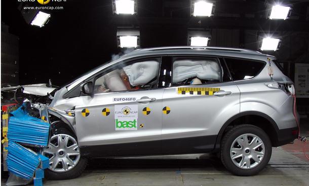 Ford Kuga 2013 Preis Crashtest Video Euro NCAP Sicherheit