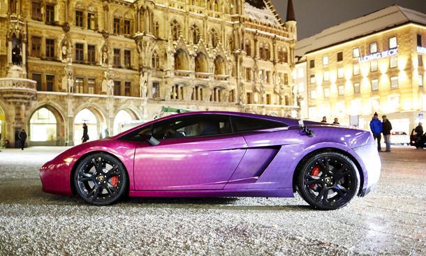 Fußballer Autos 2013 FC Bayern Lamborghini Ribery Shakiri