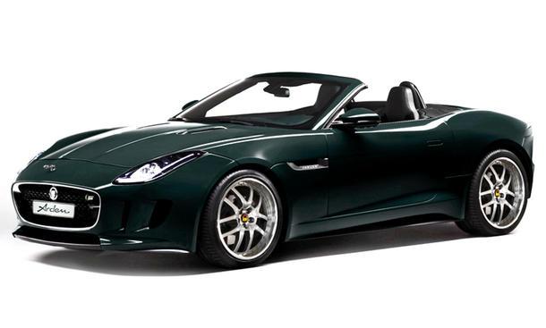 Jaguar F-Type Roadster Tuning V8 Arden Leistungssteigerung