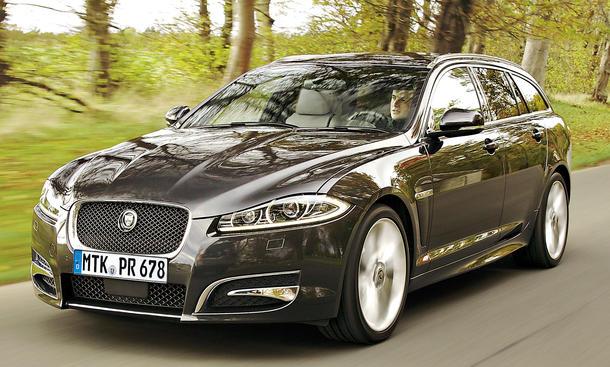 jaguar xf sportbrake 3 0 v6 diesel s im test. Black Bedroom Furniture Sets. Home Design Ideas
