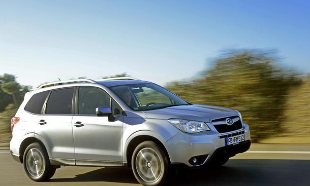 Subaru Forester 2013 Leser-Test-Aktion Premiere Neuheit Testaktion