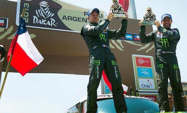 MINI ALL4 Racing 2013 Rallye Dakar Auto Technik Details