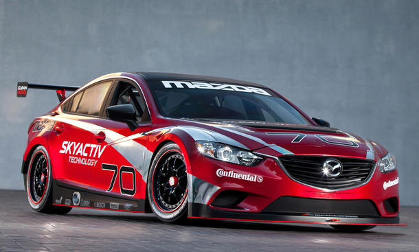 Mazda 6 Skyactiv D Racecar 2013 Rennwagen Diesel 24 Stunden von Daytona