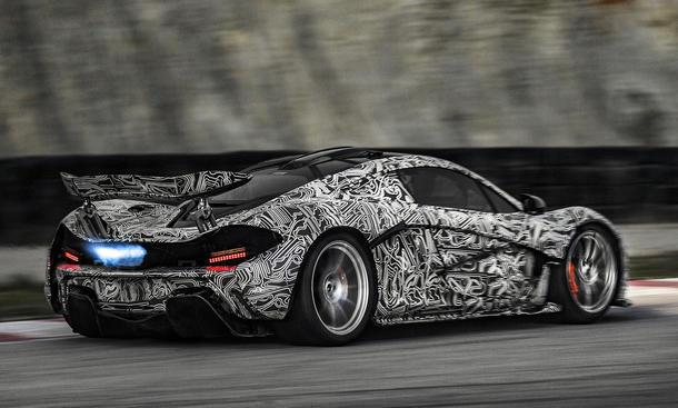 McLaren P1 Video Auto Salon Genf 2013 Erlkönig Supersportler