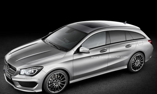 Mercedes CLA Shooting Brake 2014 Kompakt Kombi