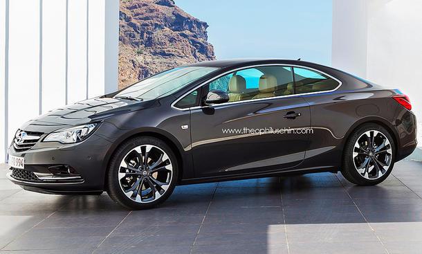 Opel Cascada Coupe 2014 Calibra