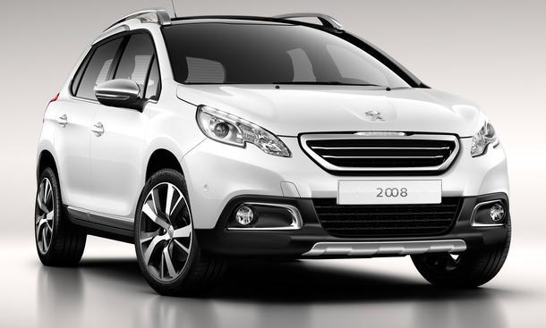 Peugeot 2008, Crossover, Auto Salon Genf 2013, Kompakt-SUV