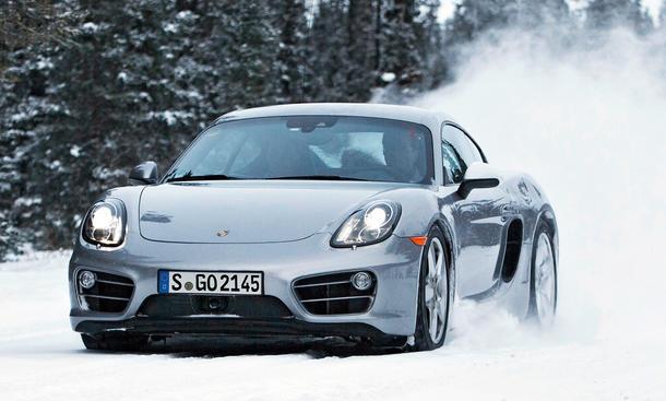 Porsche Cayman S 2013 Fahrbericht Mittelmotor-Sportwagen Sechszylinder